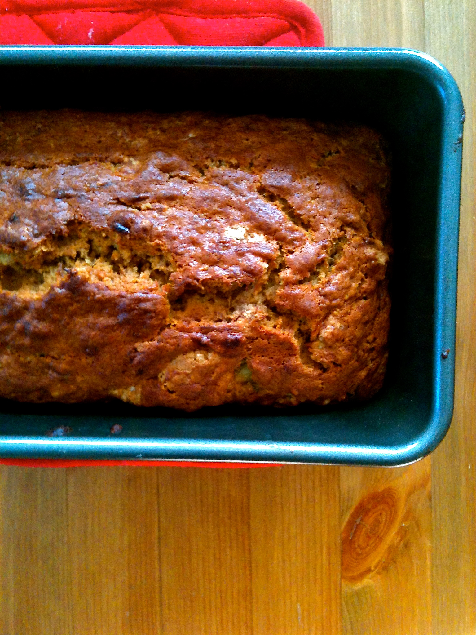 Bourbon Banana Bread -