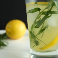 (Sparkling) Tarragon-Gin Lemonade